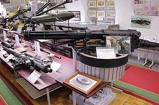 Gryazev-Shipunov GSh-6-23 Rotary cannon