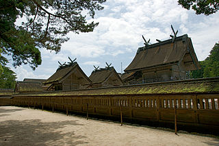 Izumo-taisha Shinto shrines in Shimane Prefecture, Japan