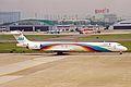JA004D 1 MD-90-30 JAS Japan Air System NGO 20MAY03 (8416644434).jpg