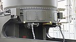 JASDF J TPS-102 Radar(Antenna unit, 46-8392) cylindrical active phased array antenna left rear view at Kasuga Air Base November 25, 2017 02.jpg