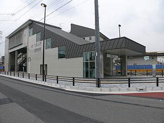 Kisogawa Station railway station in Ichinomiya, Aichi prefecture, Japan