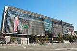 建物の左に「TOKYU HANDS」と表記