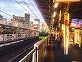 JR Yamanote line platforms Kanda Station - March 26 2018.jpg