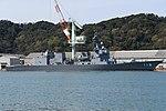 JS Fuyuzuki(DD-118) right front view at JMU Maizuru Shipyard April 13, 2019 04.jpg