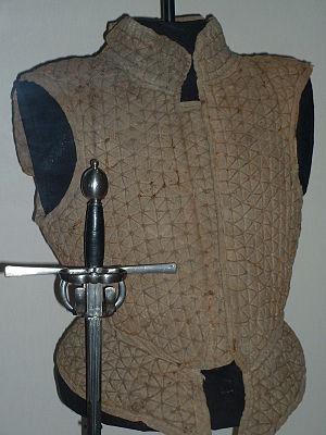 Brigandine - Jack of plates, English or Scottish, c1590