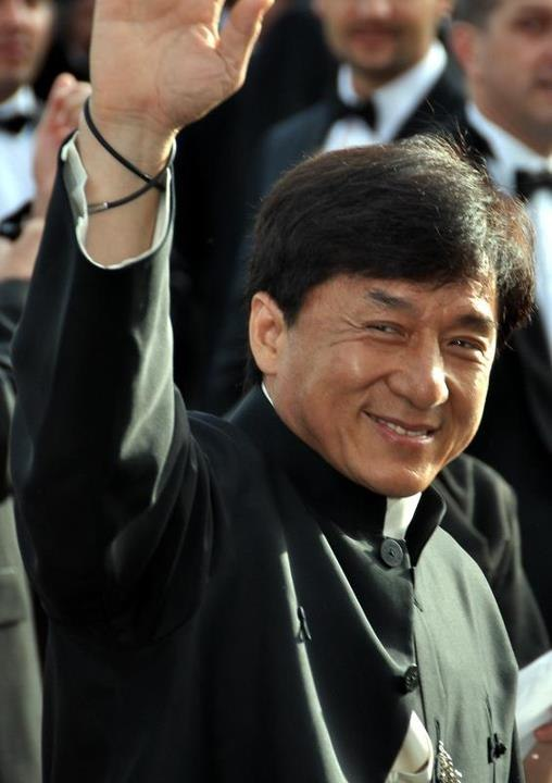 Jackie Chan Cannes 2012