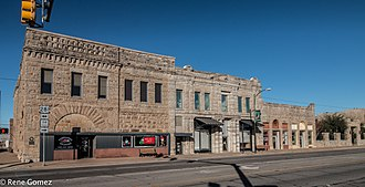 Jacksboro, Texas - Businesses in downtown Jacksboro