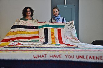 Jaimie Isaac - Jaimie Isaac and Leah Decter with '(official denial) trade value in progress' at 180 Projects