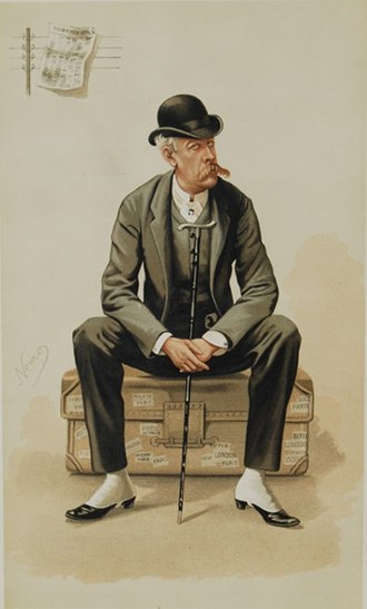 Constantin de Grimm - Image: James Gordon Bennett Vanity Fair 15 November 1884