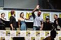 James Gunn, Chris Pratt, Zoe Saldana, Dave Bautista, Benicio Del Toro & Lee Pace (9361557099).jpg
