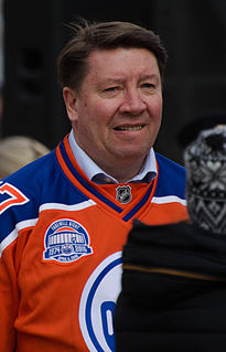 Jari Kurri Finnish ice hockey player