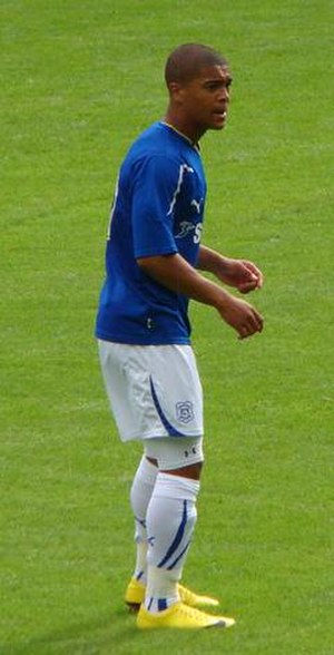 Nathaniel Jarvis - Jarvis playing for Cardiff City