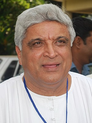 Javed Akhtar - Akhtar in 2010
