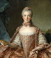 Adélaïde of France Tying Knots (Nattier)