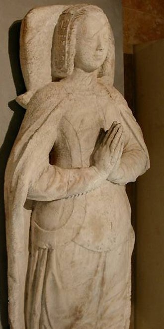 Joan, Duchess of Brittany - Tomb  of Jeanne de Penthièvre, duchess of Brittany