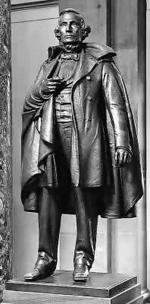 Jefferson Davis (Lukeman) - The statue in the National Statuary Hall Collection
