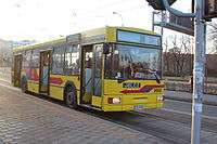 Jelcz M121MB in service for MPK Wroclaw 2014.JPG