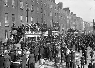 Jeremiah O'Donovan Rossa - His funeral procession August 1, 1915