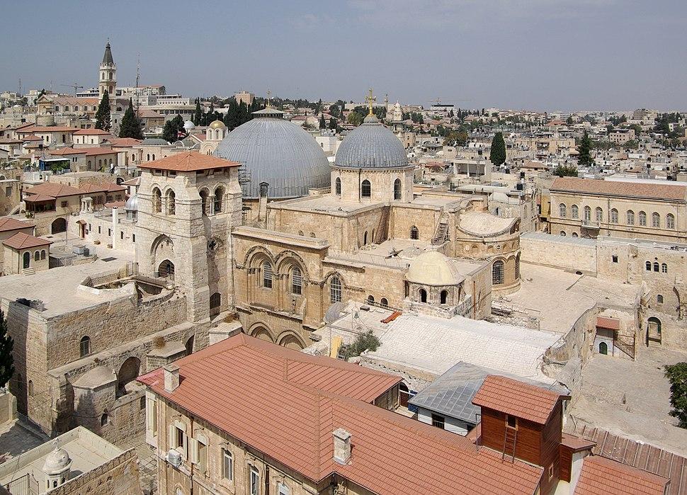 Jerusalem Holy Sepulchre BW 23