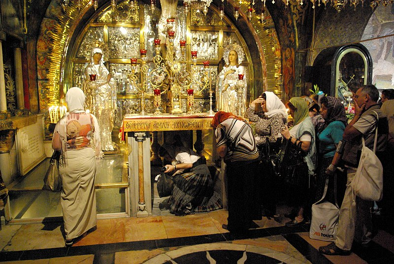 Archivo:Jerusalem Holy Sepulchre BW 4.JPG