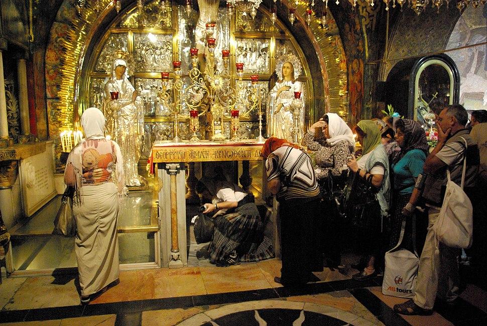Jerusalem Holy Sepulchre BW 4