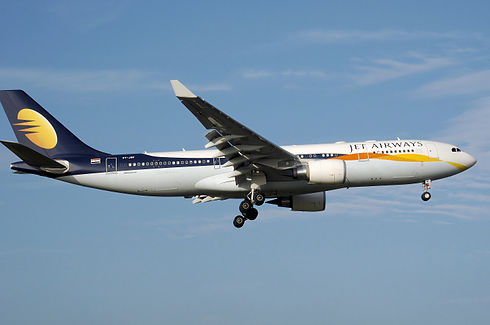 Jet Airways A330-200 VT-JWF by A.R.Pingstone