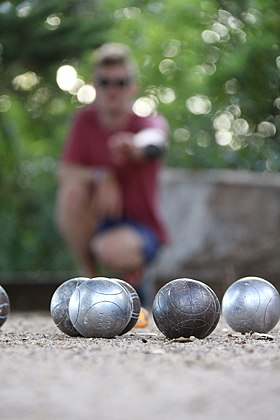 Image illustrative de l'article Pétanque