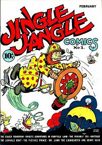 Jingle Jangle Comics cover