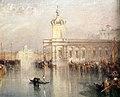 Jmw turner, la dogana, san giorgio, citella, dai gradini di europa, ante 1842, 03.jpg