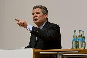 Deutsch: Joachim Gauck im Hasso Plattner Institut