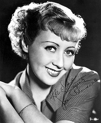 Joan Blondell - Joan Blondell circa 1936
