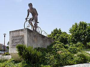 Joaquim Agostinho - Monument of Joaquim Agostinho in Torres Vedras, Portugal