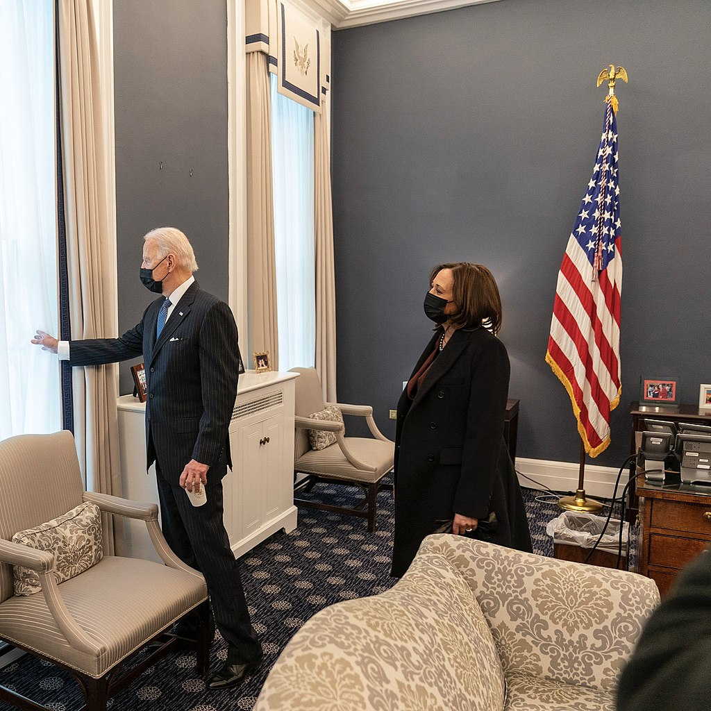 Joe Biden visits VP Office on 2021 Valentine's Day (1).jpg