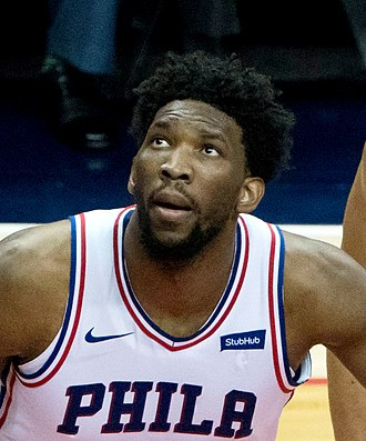 2014 NBA draft - Joel Embiid was selected third by the Philadelphia 76ers.