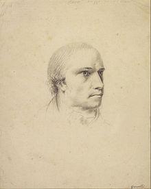Bildnis Antonio Canova (1787) von Johann Heinrich Wilhelm Tischbein (Quelle: Wikimedia)
