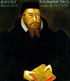 Johann Wigand German Lutheran bishop