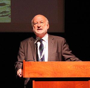 John A. Pickett - John Pickett delivering a keynote talk at the Xth European Congress of Entomology, York, 2014