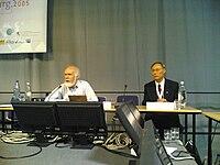 John Klensin and Hualin Qian.jpg