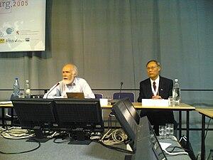 John Klensin - John Klensin (left) and Hualin Qian
