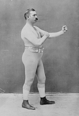 John L. Sullivan - John L. Sullivan as he appeared in 1898, late in his career.