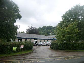 John Ruskin School - Image: John Ruskin School entrance