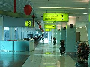 Senai International Airport - Inside Senai Airport