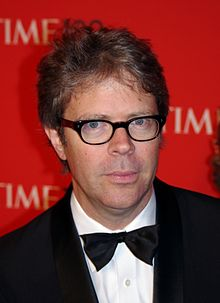Franzen at the 2011 Time 100 gala