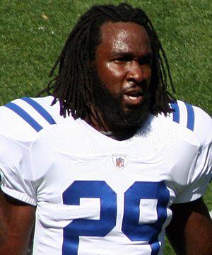 Joseph Addai - Addai with the Colts in 2010