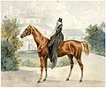 Joseph Heicke Bildnis einer Kunstreiterin zu Pferd Wien 1836.jpg