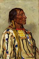Joseph Henry Sharp - Chief Flat Iron (1905).jpg