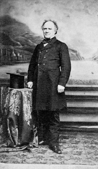 Secretary of State for the Provinces - Image: Joseph Howe 1