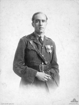 Joseph Maxwell - Studio portrait of Lt. J. Maxwell