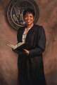 Judge Saundra Brown Armstrong official portrait by Scott Johnston, oil on linen 38x26 inches, collection of the United States District Court of Northern California, Oakland.jpg