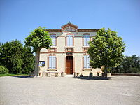 Juilles (Gers, Fr) mairie-école.JPG